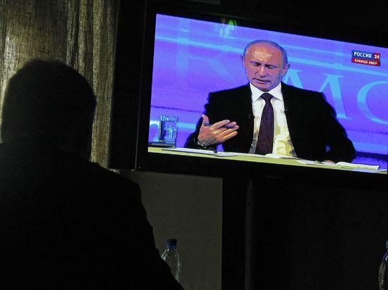 Психотерапевт Путин. Прямая линия с президентом прошла в идеальном мире
