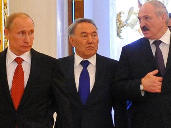Путин, Лукашенко и Назарбаев обсудили создание нового союза