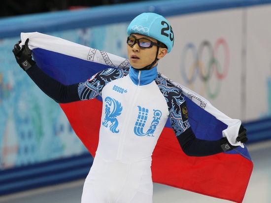 Российский шорт-трекист Виктор Ан стал трехкратным олимпийским чемпионом Сочи