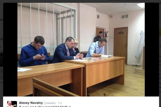 Второй за день суд готовился отправить Навального в СИЗО, но передумал