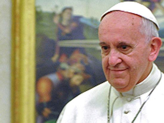 Папа Римский Франциск признан «Человеком года 2013»