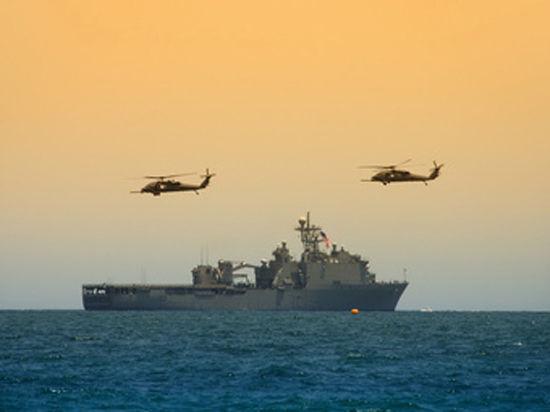 Иран решил направить свои военные корабли к морским границам США