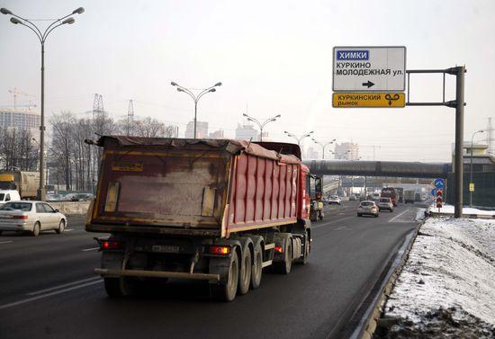 Москву закроют для старых грузовиков