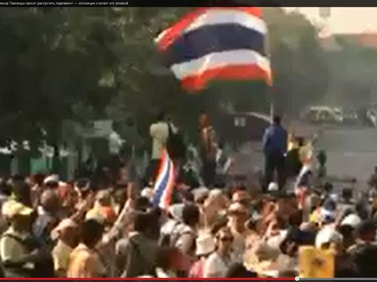 Таиланд распускает парламент до новых выборов