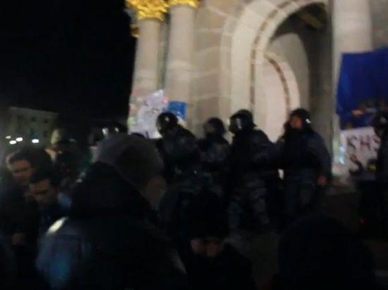 На Украине началась революция?