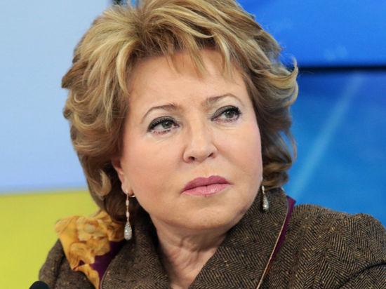 Валентина Матвиенко призналась, что «пришла в ужас» от состояния Крыма, но рада за крымских татар