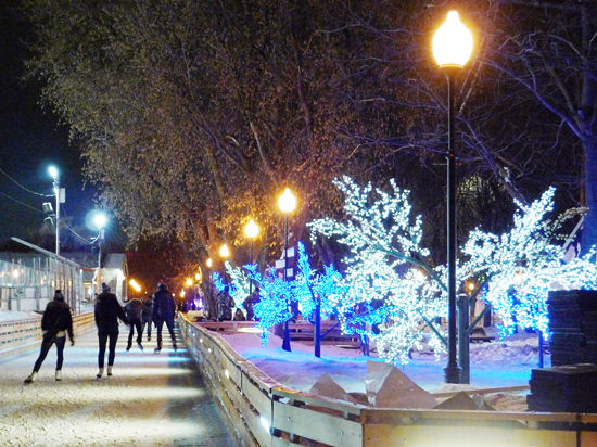 Зима подарила москвичам тепловой рекорд