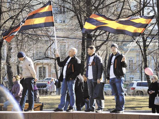В Крым отправят 20 тысяч георгиевских лент