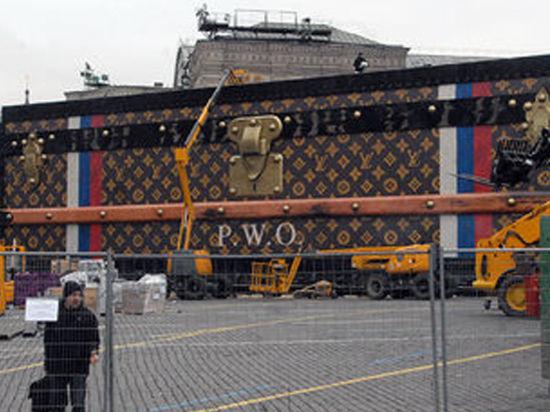 На Красной площади демонтировали скандальный