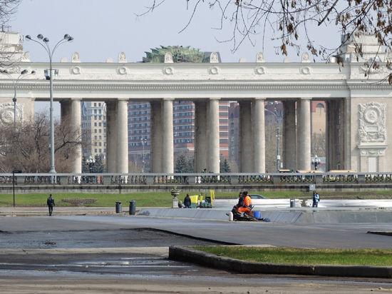 Парк Горького готовят космотровой