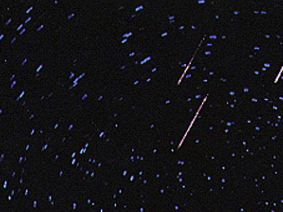 Астрономы ждут пика метеорного потока, богатого светящимися болидами