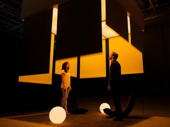 Светодизайнеры разработали проект комнаты, которая избавляет от стресса