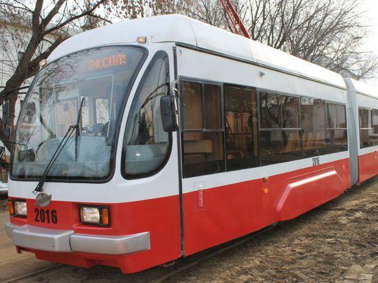 """Трамвай-""""гармошка"""""""