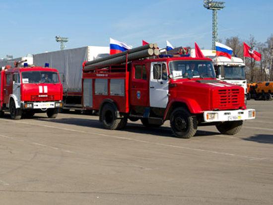 Из Москвы в Крым отправилась колонна спецтехники