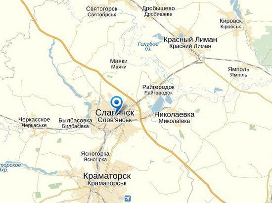 Славянск взят: Госучреждения захвачены в Красном Лимане, Красноармейске и Краматорске. Онлайн-трансляция