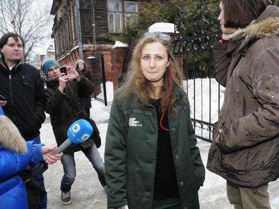 Алёхину из Pussy Riot выпустили по амнистии