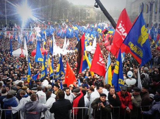 Участники штурма администрации президента Украины арестованы на 2 месяца