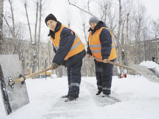 Снег в Москве доверили разгребать россиянам
