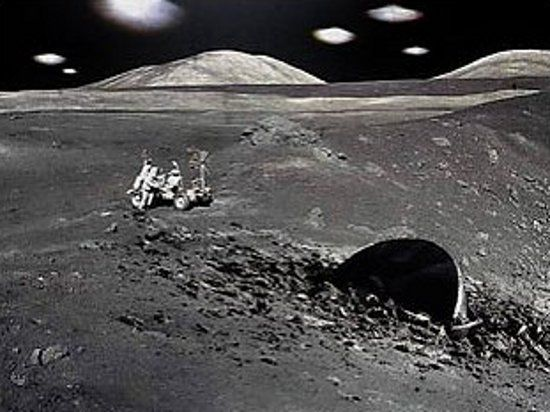 Ученый Карл Уорринг обнаружил на Луне неземную базу