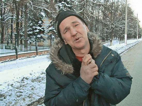 Чеховский бомж поразил журналистов артистичностью
