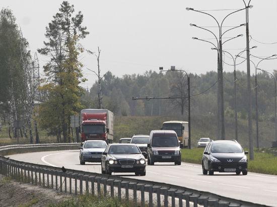 Московские шоссе «разгонят» до 80 км/час