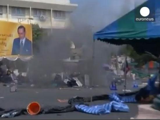 В Бангкоке манифестанты заблокировали здание временного правительства