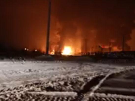 ЧП в Кировской области: загорелись цистерны с газом