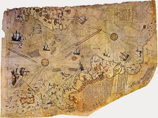 Тайна карты Пири Рейса: кто картографировал Антарктику 6000 лет назад