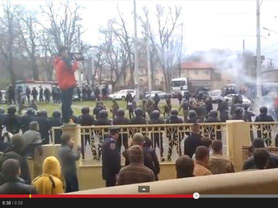 В одесской битве за кандидата в президенты Царева пострадали семь человек