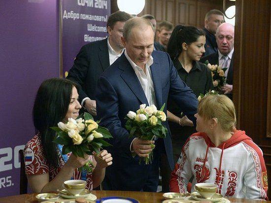 Путин увеличил выплаты призерам Паралимпиады