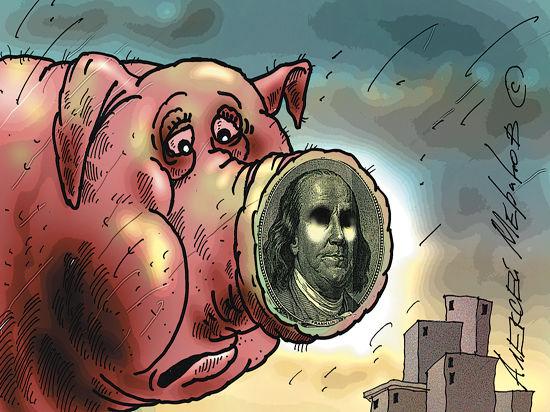 Рубль вновь вошел в штопор