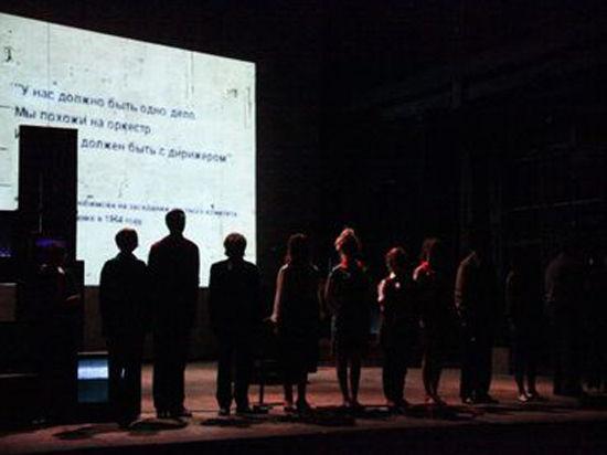 Театр на Таганке захватили националисты и гомосексуалисты