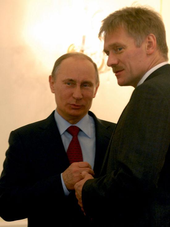 Песков: Москва на дает советов Украине