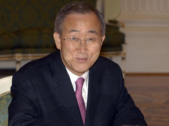 ООН не хочет ввязываться: Пан Ги Мун против отправки миротворцев на Украину