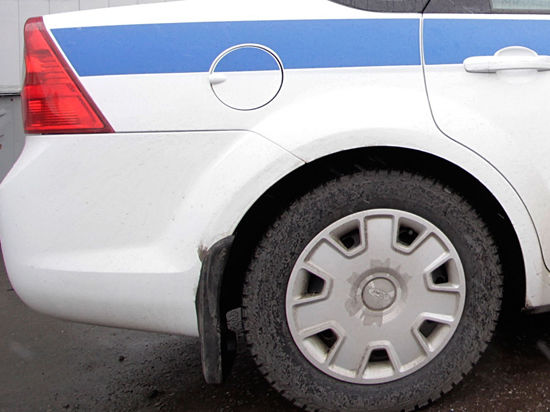 Наркодилер угнал полицейскую машину ногами