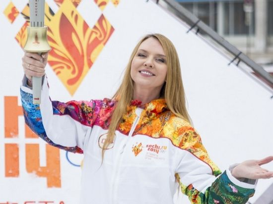 У певицы Варвары с олимпийском огнем связано нечто личное