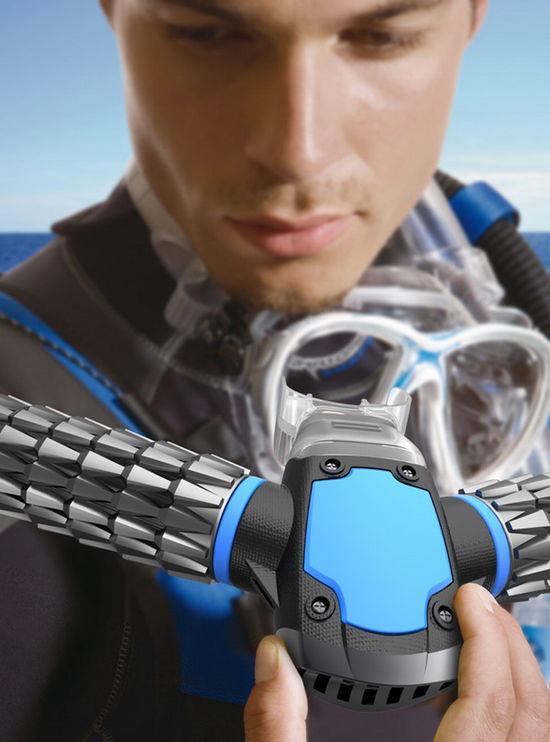 Новаторская дайверская маска создаёт собственный кислород прямо под водой