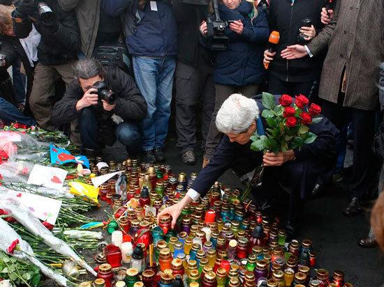 Джон Керри в Киеве: Россия запугала Украину