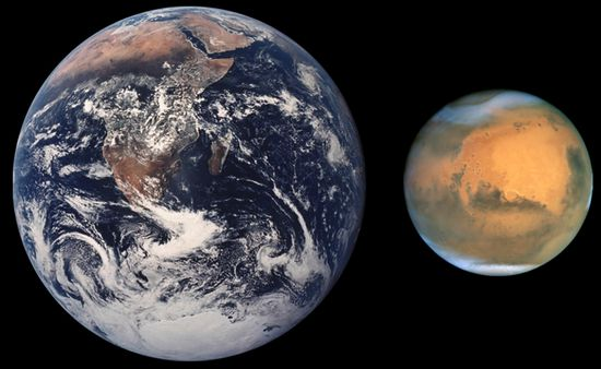 Марс начинает свое