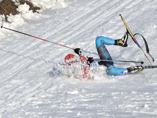 Опрокинутая лыжня