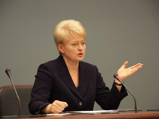Президент Литвы отказалась ехать на Олимпиаду в Сочи по политическим мотивам