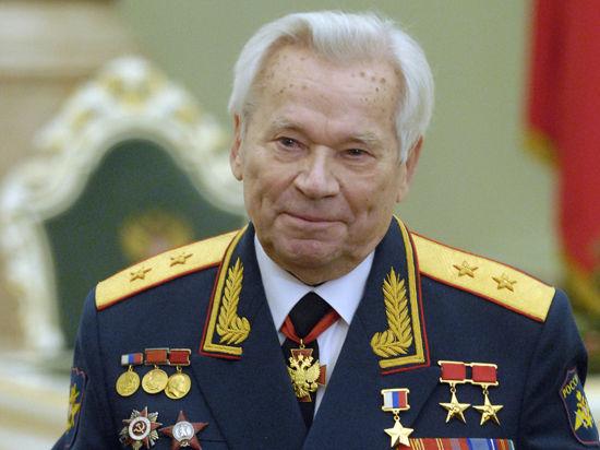 Михаила Калашникова похоронят в Ижевске 26 декабря