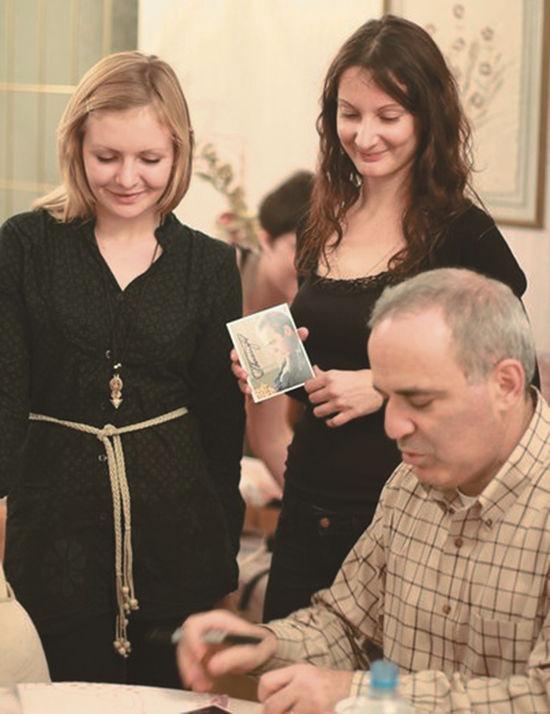 Каспаров посоветовал щелковчанке ставить жизни шах и мат