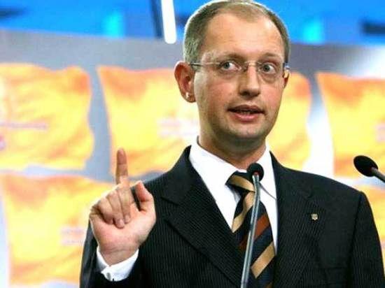 Арсений Яценюк выдвинут на пост премьер-министра Украины