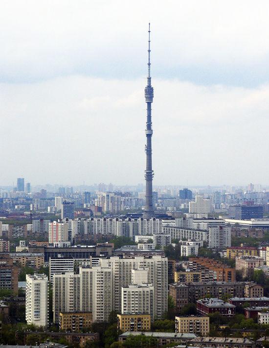 Башни ибасни северо-востока Москвы