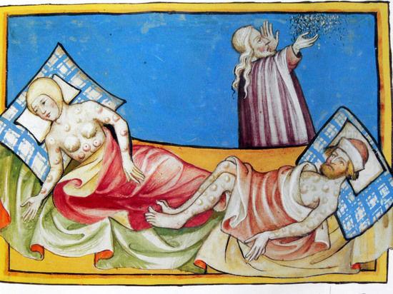 Штамм средневековой чумы может проснуться в любой момент