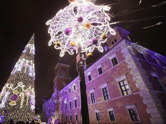 Столица уже готова встретить Новый год!