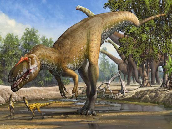 Крупнейший динозавр Европы питался собственными родственниками