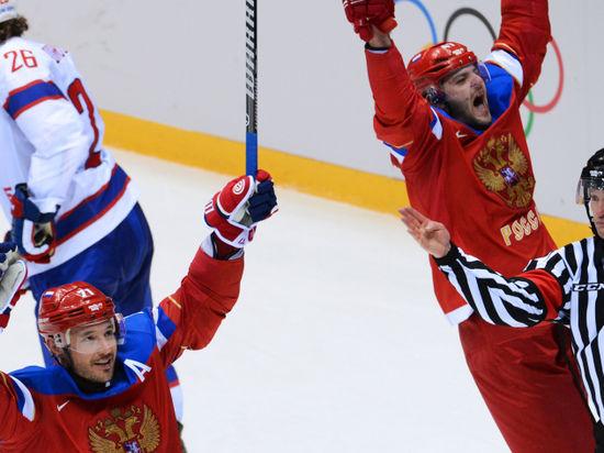 Российские хоккеисты вышли в четвертьфинал Олимпиады, обыграв Норвегию