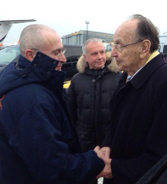 Появилось первое фото Ходорковского в Германии